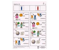 Colorclip: Alltagswortschatz Deutsch - Verben/Adjektive
