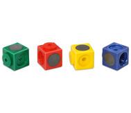 20 Riesensteckwürfel, magnetisch, 4 Farben