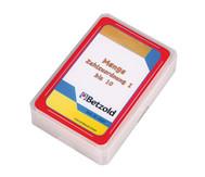 Menge-Zahlzuordnung bis 10 - Kartensatz für den Magischen Zylinder