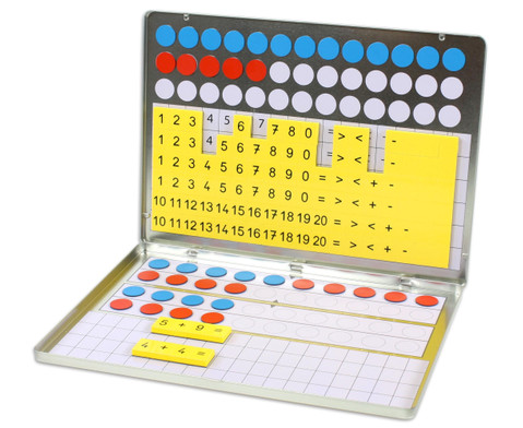 1 2 3  Zahlenzauberei Rechenmagnetbox