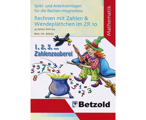 Betzold Band 1 Rechnen mit Zahlen und Wendeplaettchen im ZR bis 10