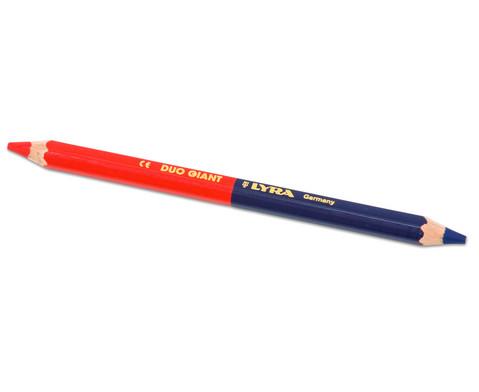 Zweifarbstift blau und rot-2