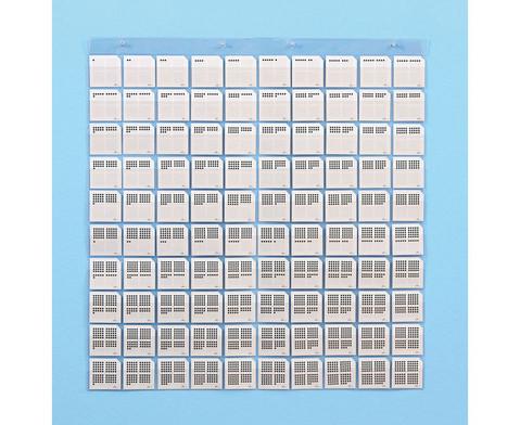 Transparente Stecktafel und Zubehoer-9