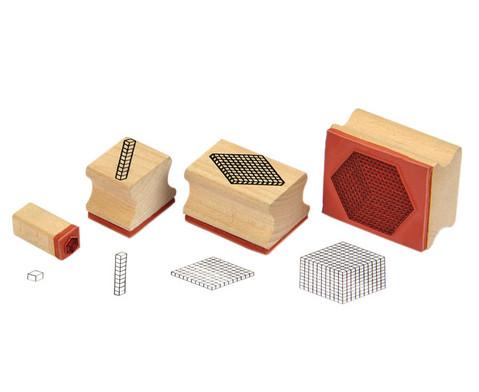 Betzold Zehnerbasis-Stempel 4er-Set