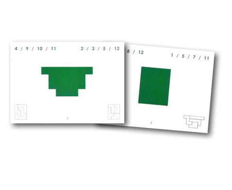Betzold Pentomino-Arbeitskarten Satz 3