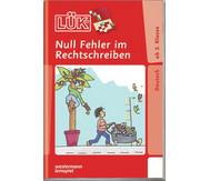 LÜK-Heft, Null Fehler im Rechtschreiben 1