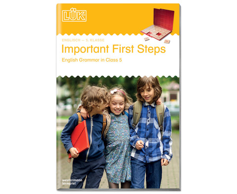 LUEK Important First Steps 5 Klasse