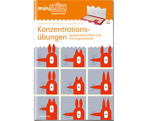miniLUEK-Heft Konzentrationsuebungen 1