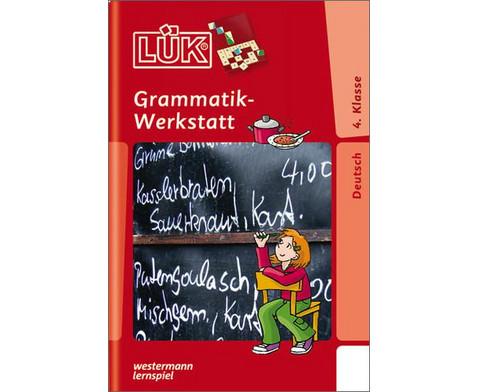 LUEK-Heft Grammatik-Werkstatt 4 Klasse-1