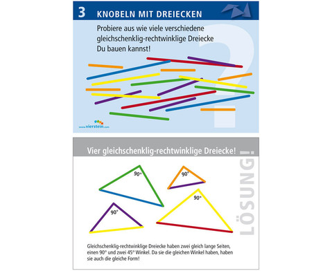 Arbeitskarten zu Winkelschienen Knobeln mit Dreiecken-1