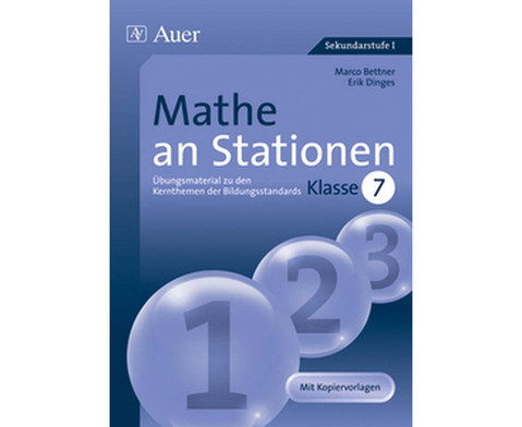 Mathe an Stationen 7-1