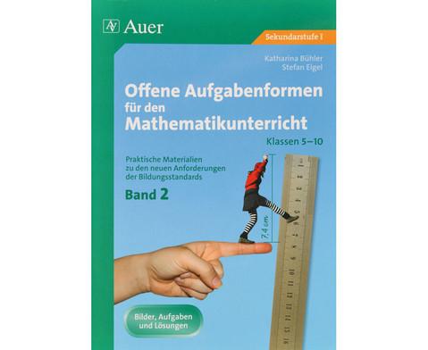 Offene Aufgabenformen fuer den Mathematikunterricht Band 2-1