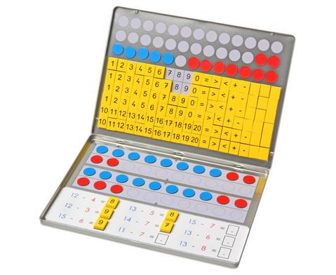 Aufgabenkarten fuer Rechenmagnetbox Set 2-3