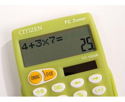 Grundschul-Taschenrechner Citizen FC-100-4