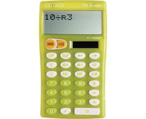 Grundschul-Taschenrechner Citizen FC-100-1
