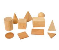 Geometriekörper und Grundflächen, 11teiliger Satz