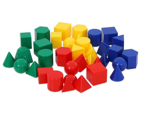 Satz mit 40 kleinen Geometriekoerpern-1