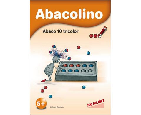 Abacolino - Arbeitsheft Abaco 10 tricolor-1