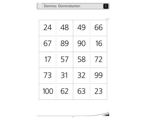 Werkstatt Mathematik Zahlenraum 0 - 100-2