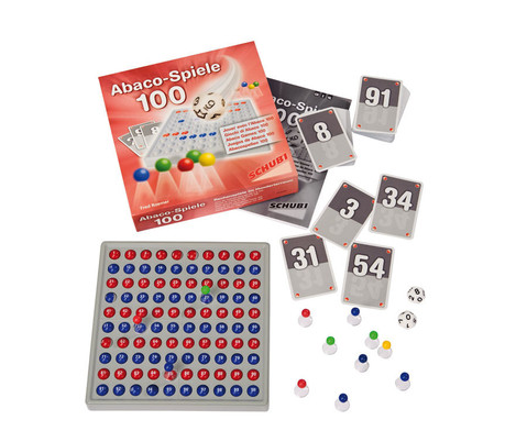 Abaco Spiele 100 mit Abaco rot-blau