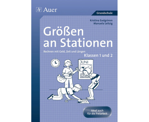 Mathe an Stationen - Spezial Groessen 1-2-1