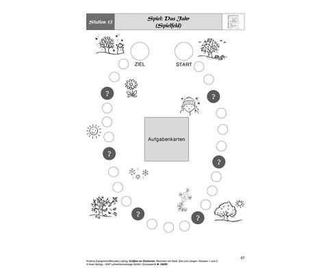 Mathe an Stationen - Spezial Groessen 1-2-4