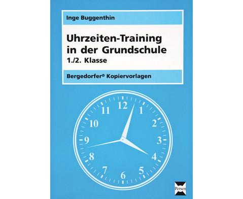 Uhrzeiten-Training in der Grundschule 1-2-1