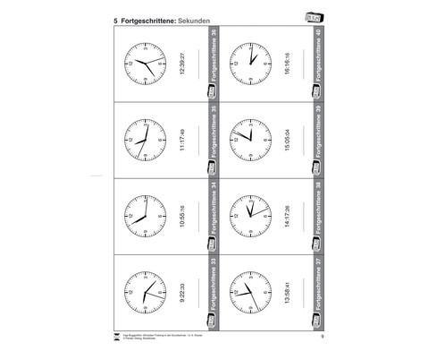 Uhrzeiten-Training in der Grundschule 3-4-2
