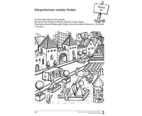 Lernstationen Mathematik Geometrische Koerper-3