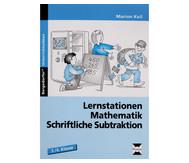 Lernstationen Mathematik, Schriftliche Subtraktion