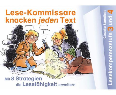 Lese-Kommissare knacken jeden Text - Lesekompetenzstufe 3 und 4-1