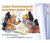 Lese-Kommissare knacken jeden Text - Lesekompetenzstufe 3 und 4