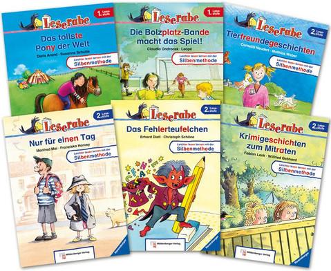 Leserabe Lesestufe 1 und 2 - Set mit allen 10 Baenden-1