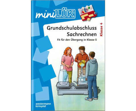 miniLUEK-Heft Grundschulabschluss Sachrechnen-1