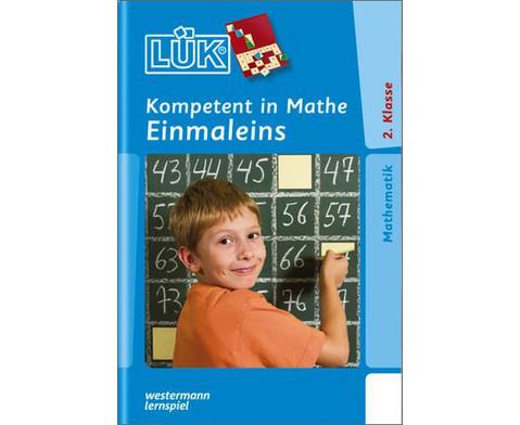 LUEK-Heft Kompetent in Mathe Einmaleins - 2 Klasse-1