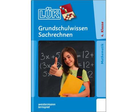 LUEK-Heft Grundschulwissen Sachrechnen-1