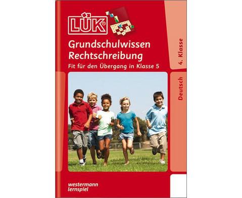 LUEK Grundschulwissen Rechtschreibung ab 4Klasse-1