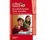 LÜK-Heft Grundschulwissen Texte schreiben