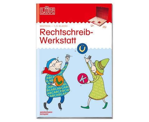LUEK Rechtschreibwerkstatt fuer 1- 2 Klasse