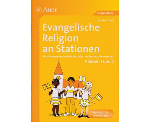 Evangelische Religion an Stationen - Klassen 1 und 2-1