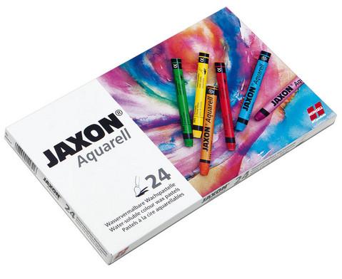 Jaxon Aquarell Wachspastelle 24 Farben-1