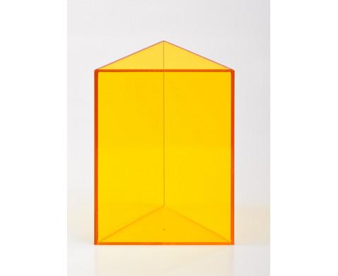 10-teiliger Satz Geometriekoerper aus Plexiglas-7