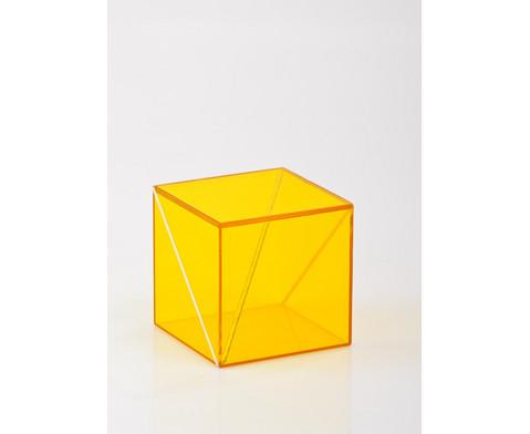 10-teiliger Satz Geometriekoerper aus Plexiglas-9