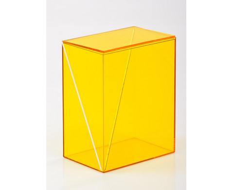 10-teiliger Satz Geometriekoerper aus Plexiglas-12