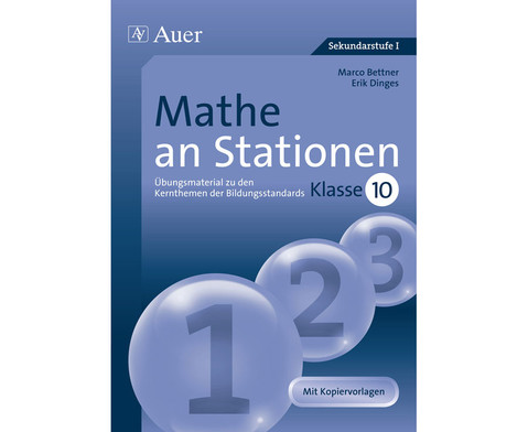 Mathe an Stationen 10-1