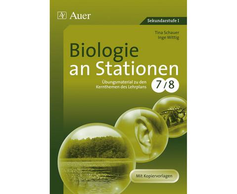 Biologie an Stationen - Klasse 7-8-1