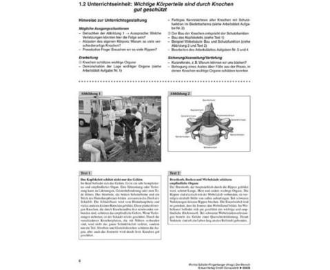 Kopiervorlagen Der Mensch  - 5 bis 10 Klasse-2