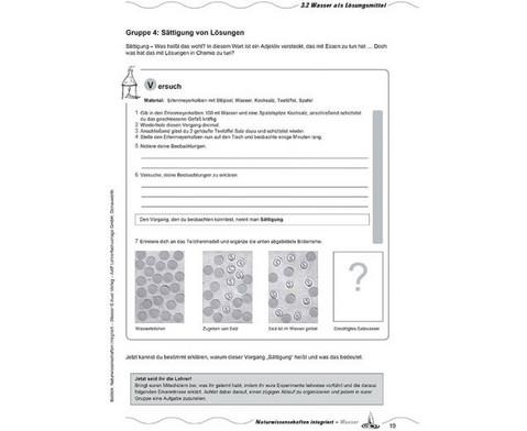 Naturwissenschaften integriert Wasser incl CD-ROM - 5 bis 7 Klasse-5