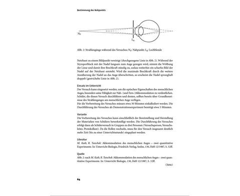 Biologie allgemein - Biologische Kurzversuche in 2 Baenden-9