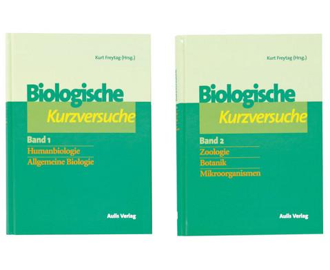 Biologie allgemein - Biologische Kurzversuche in 2 Baenden-1
